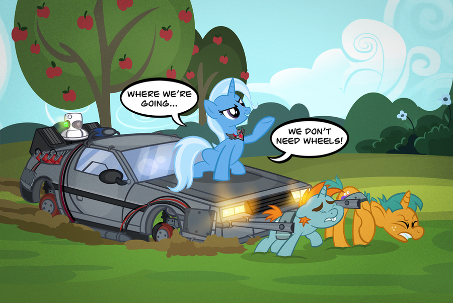 Wiw My Little Pony Fim 4 Trixie Cooler Page 53