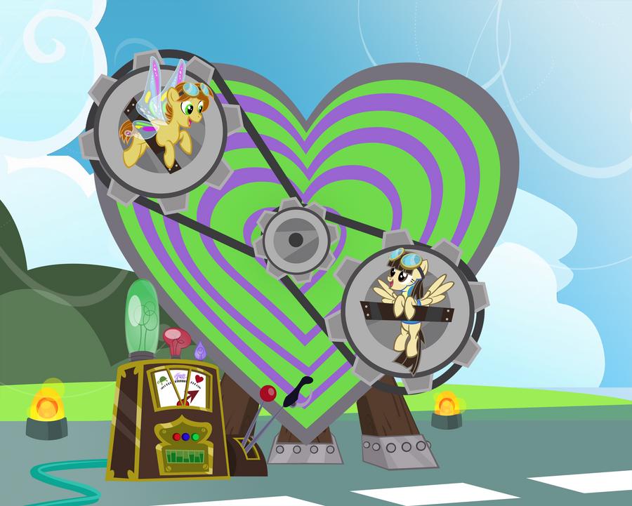 Dizzy Hearts by PixelKitties