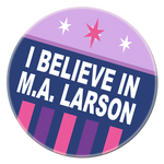 I Believe in MA Larson Alpha by PixelKitties