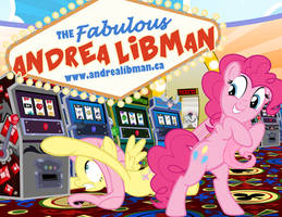 Andrea Libman Request/ Pinkie and Fluttershy by PixelKitties