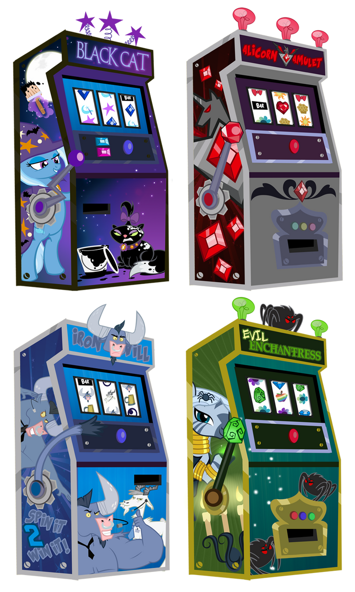 Friendship is Magic Gambling Machines by PixelKitties