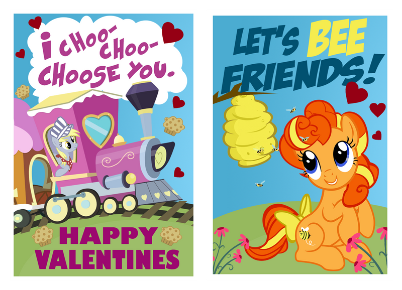 Valentine Derpy by PixelKitties