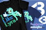 I Like Lyra shirt