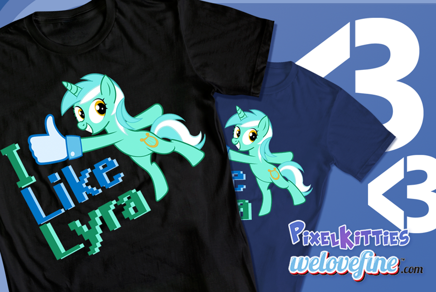 I Like Lyra shirt by PixelKitties