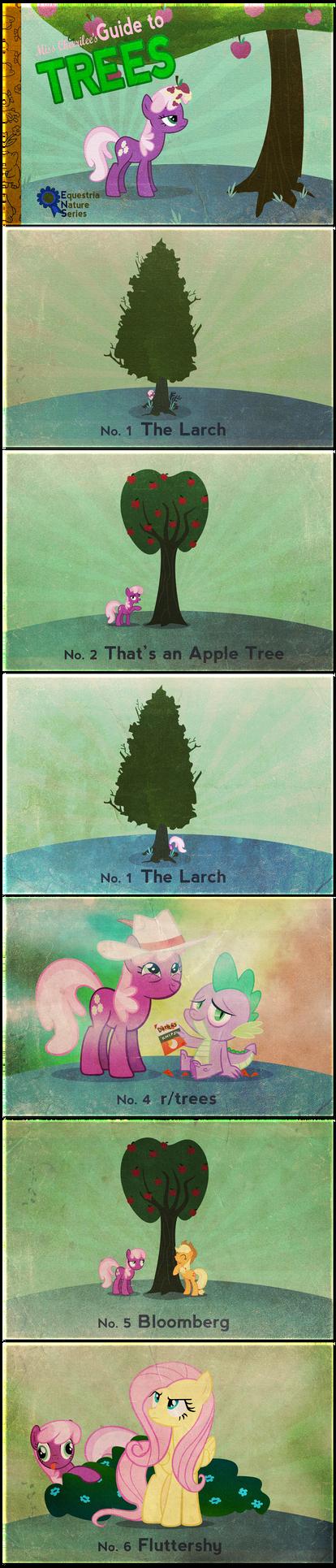 Miss Cheerilee's Guide to Trees by PixelKitties