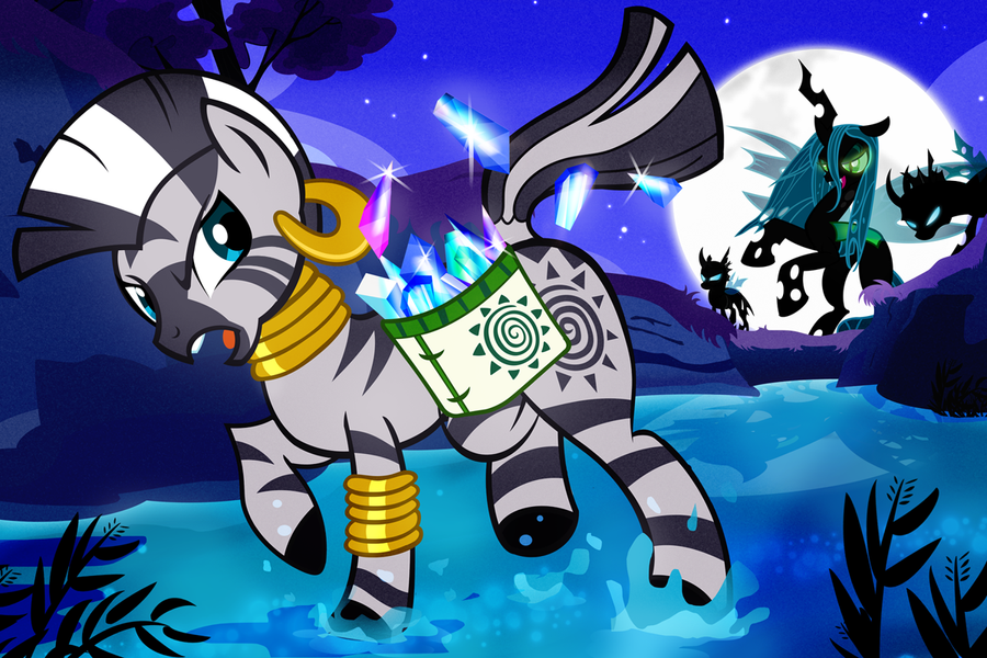 Zecora's Midnight Escape by PixelKitties