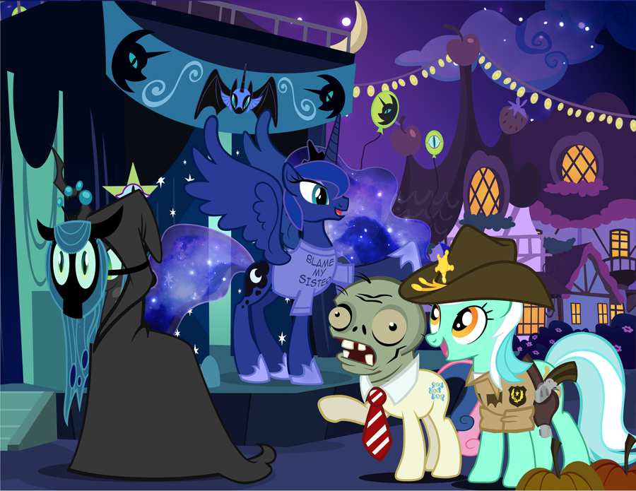 Nightmare Nights Special Attendee Bonus by PixelKitties