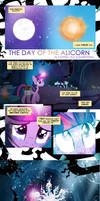 The Day of The Alicorn Comic