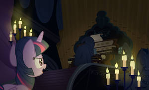 Castle-Mania: Lair of the Shadow Pony by PixelKitties