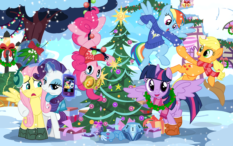 Hearth's Warming Eve 2013 by PixelKitties