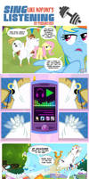 Sing Like Nopony's Listening Comic
