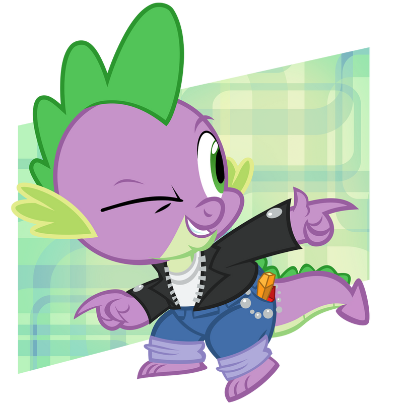 1950s Cool Guy Spike by PixelKitties