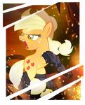Applejack: Modern War Mare
