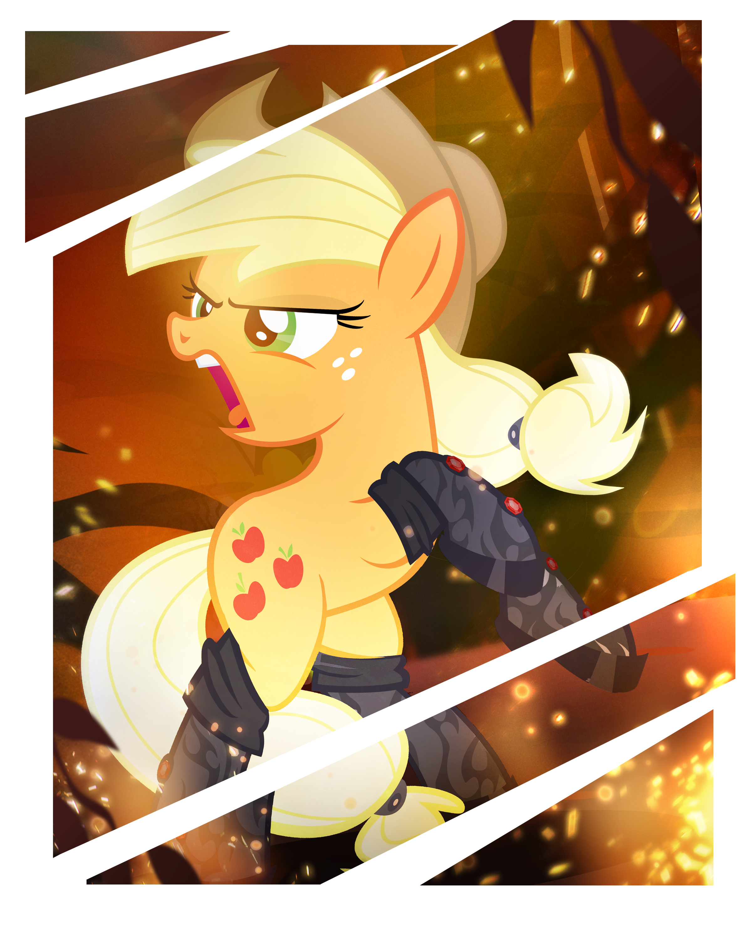 Applejack: Modern War Mare by PixelKitties