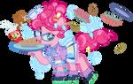 1950s Pinkie Pie- Pi Day 2014