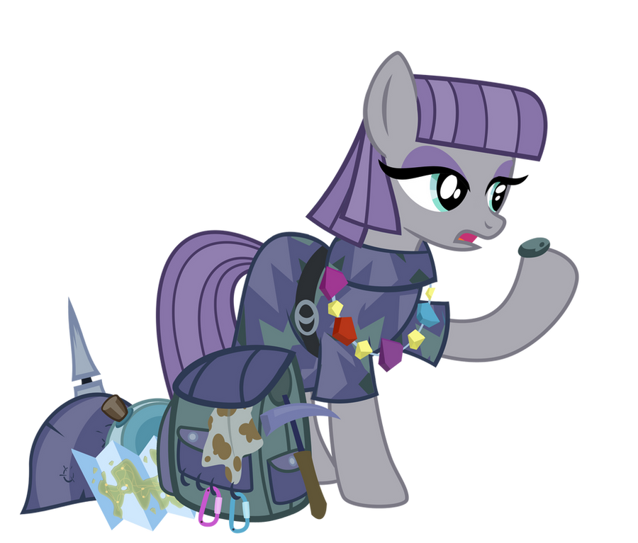 Maud Pie- Rock Raider by PixelKitties