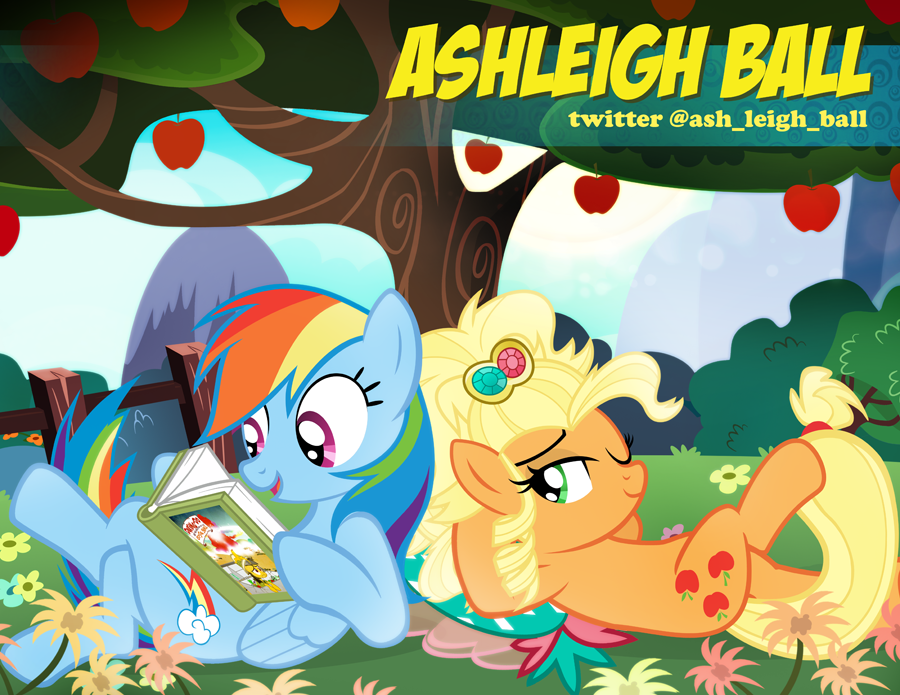 Ashleigh Ball Babscon Autograph Card by PixelKitties