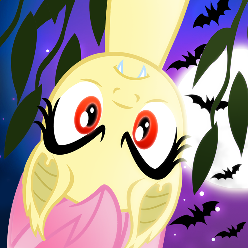 Flutterbat Hangs Around by PixelKitties