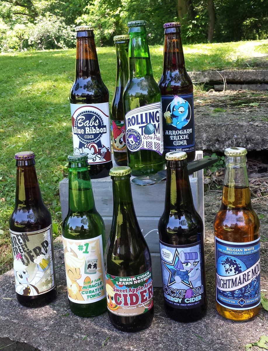 BottlesTrotcon by PixelKitties