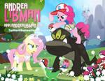 Andrea Libman Pokemon Fluttershy Pinkie Pie