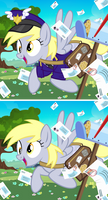 Derpy Mail Mare CCG Card