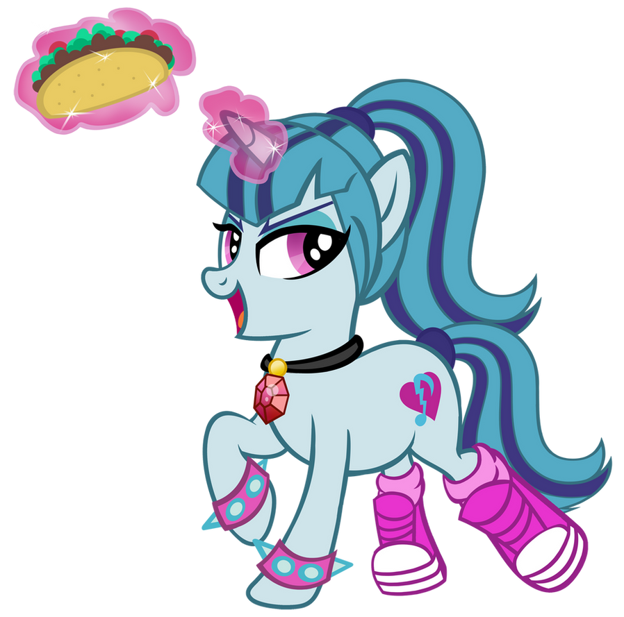 Sonata Dusk Loves Tacos by PixelKitties