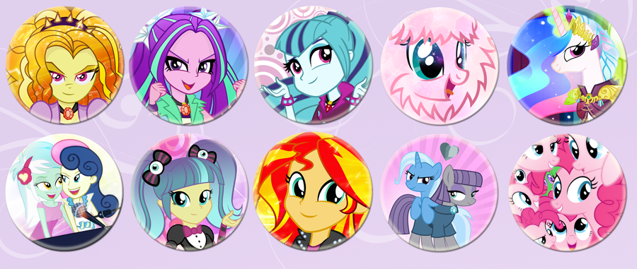 Nightmare Nights 2014 New Buttons by PixelKitties