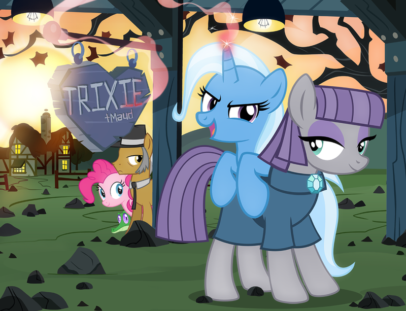 Trixie + Maud by PixelKitties