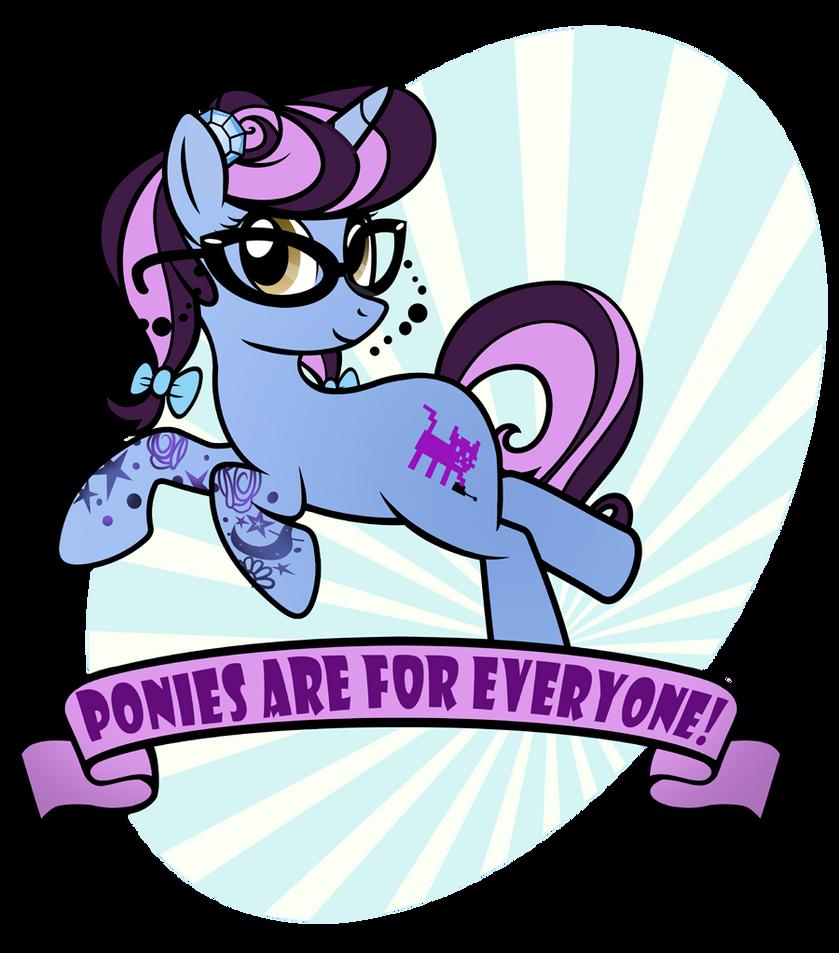 Ponies4Everyone by PixelKitties