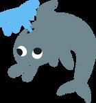 Applebloom Dolphin Cutie Mark