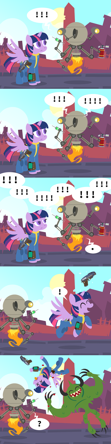 Deathclaws Are Magic by PixelKitties