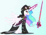 The Brightest Light Casts The Darkest Shadow by PixelKitties