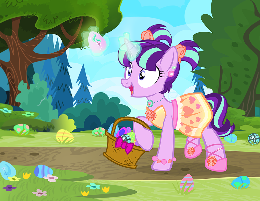 Easter Eggs and Fancy Dresses