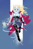The Goddess of Thunder by PixelKitties