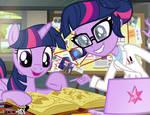 Twilight Sparkle Science Team