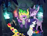 Dragon Lord Spike by PixelKitties