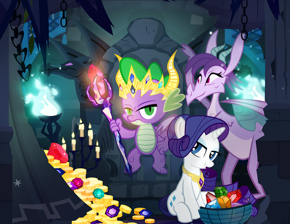 Pics photos crazy sparkle background - Dragon Lord Spike By Pixelkitties On Deviantart