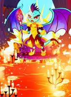 Queen of the Flames by PixelKitties