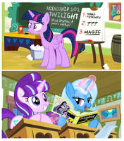 When teach hatin' on your new bestie. by PixelKitties