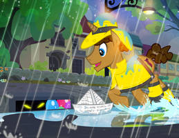 He Stomps His Hooves Upon the Ground... by PixelKitties