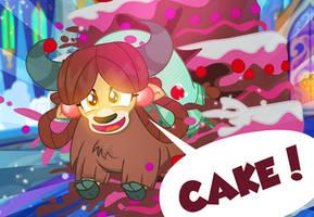 YONA NEEDS CAKE! by PixelKitties