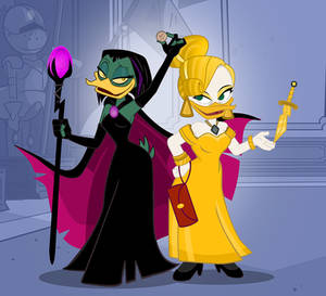 Magica and Goldie Preview