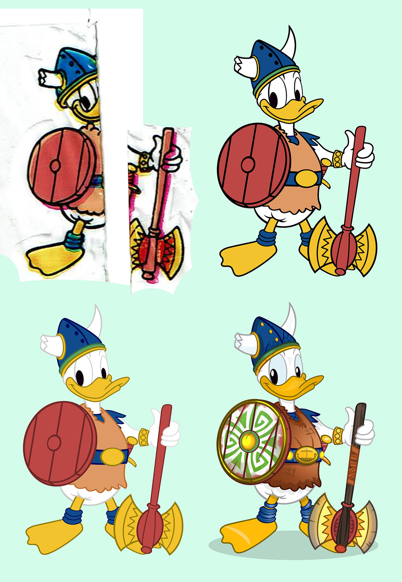 Donald the Viking by PixelKitties