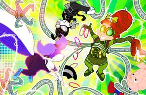 Fifi Friday vs Elmyra Octavius by PixelKitties
