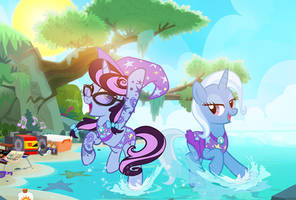 Birthday Vacation Trixie! by PixelKitties