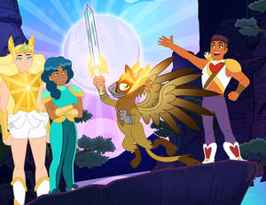 She-Ra and the Griffon of Power!