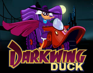 Darkwing Duck Poster by PixelKitties