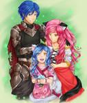 Mixed yet happy Family