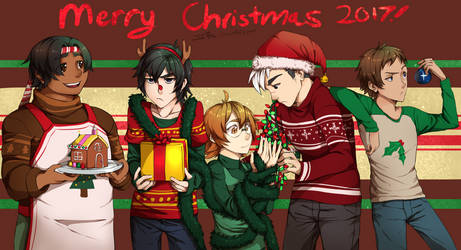 Space Fam--Merry Christmas 2017