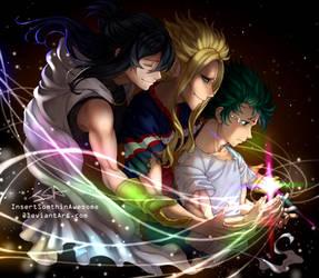 [My Hero Academia SEASON3 SPOILERS!!!] Heirs